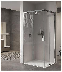 Luxury shower enclosures from the best known manufacturers