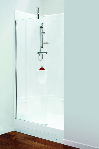 Walk in alcove shower pod