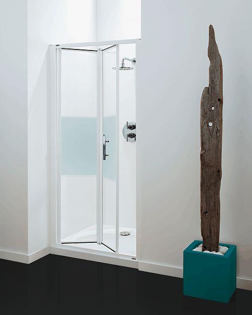 Coram Optima Bi Fold Shower Door