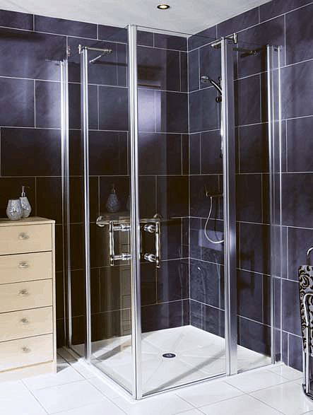 Easa Elegance Hinged Shower Door With Extender Panel L6