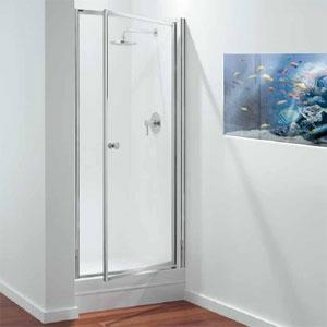 Glass pivot shower doors coram pivot shower door shown