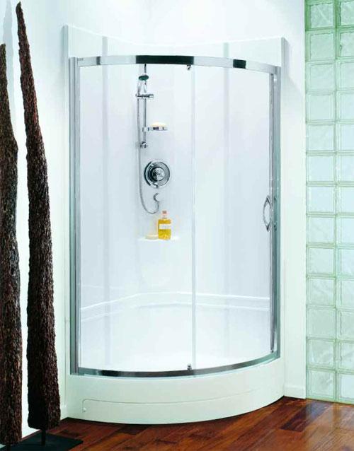 Coram 950 Quadrant One Piece Shower Pod Spacious Self