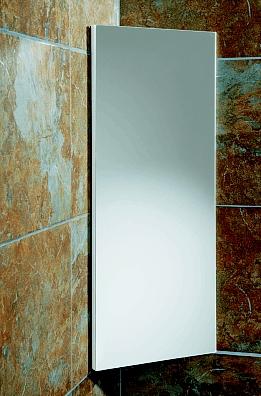Denia Mirror Corner Bathroom And Cloakroom Wall Cabinet By Hib