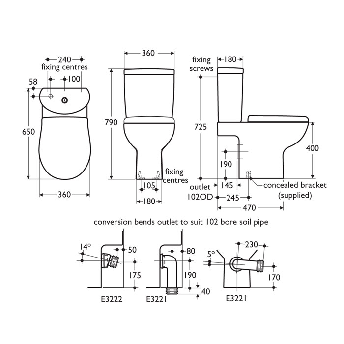 Create Bathroom Suite