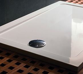 low profile easy access shower trays from mira