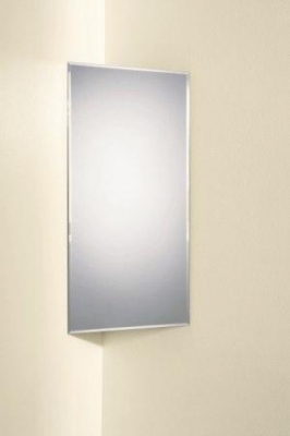 Abram Corner Bathroom Mirror By HIB