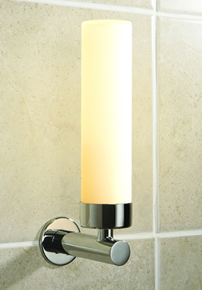 Bathroom Wall Lighting on The Tube Wall Light The Tube Bathroom Wall Light Features A Stylish