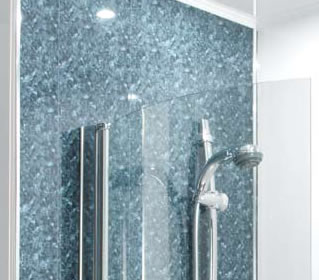 HydroPanel Waterproof Alternative To Wall Tiles For Showers And - Alternative to tiles in shower cubicle