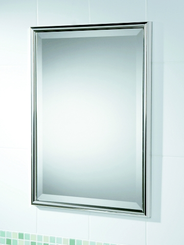 Chrome bathroom mirrors 28 images traditional minka 24 quot high rectangle chrome bathroom Polished chrome bathroom mirrors