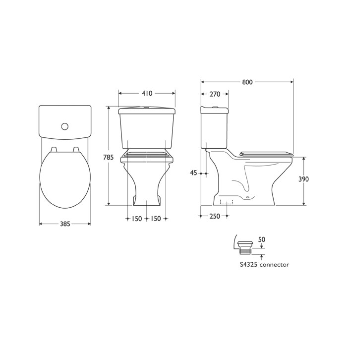 ideal standard close coupled toilet fitting instructions