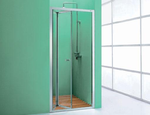 nabis bi fold shower door and optional side panel