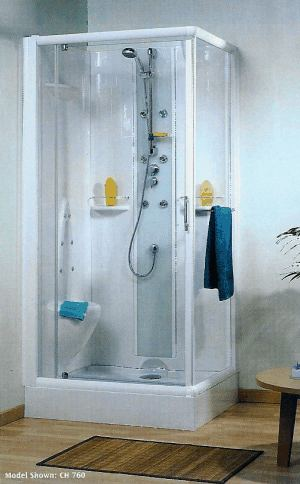 Kinedo Opus 1000 X 800 Self Contained Leak Free Shower Cubicle