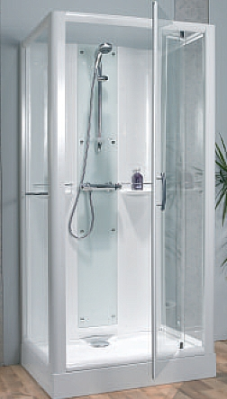 shower cubicles self contained. Contemporary Self Opus Wall Shower Enclosure  Leak Free Midwall Self Contained Shower  Cubicle Intended Cubicles Self Contained D