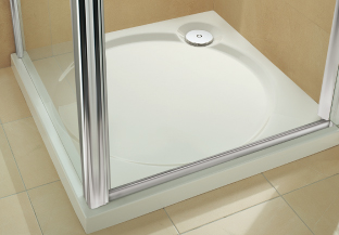 Coram slimline 60 shower trays coratech - Shallow shower tray ...