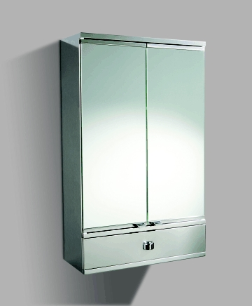 the visnu metal bathroom cabinet with mirror doors and draw the visnu