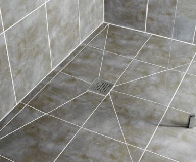 Design and build a Wet Room shower