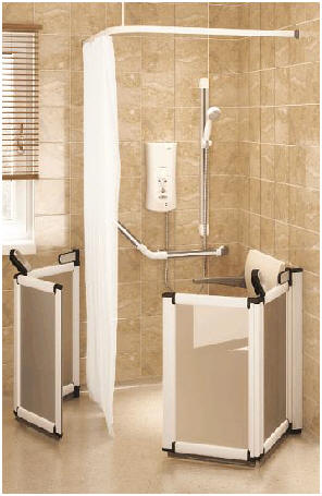 Shower equipment, special needs and assisted bathing   Disabled ...