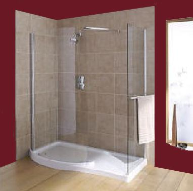 Awesome Mira BEAM Corner Walk In Shower Enclosure