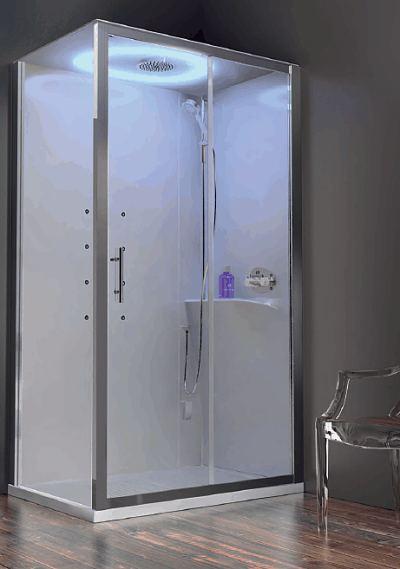 Novellini Eon Rectangular Self Contained Leak Free Shower