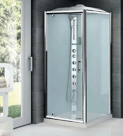 Novellini GLAX 2 Pivot door shower cubicle
