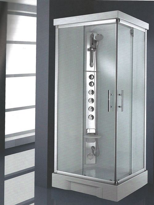 Rectangular Self Contained Shower Cubicle Pod