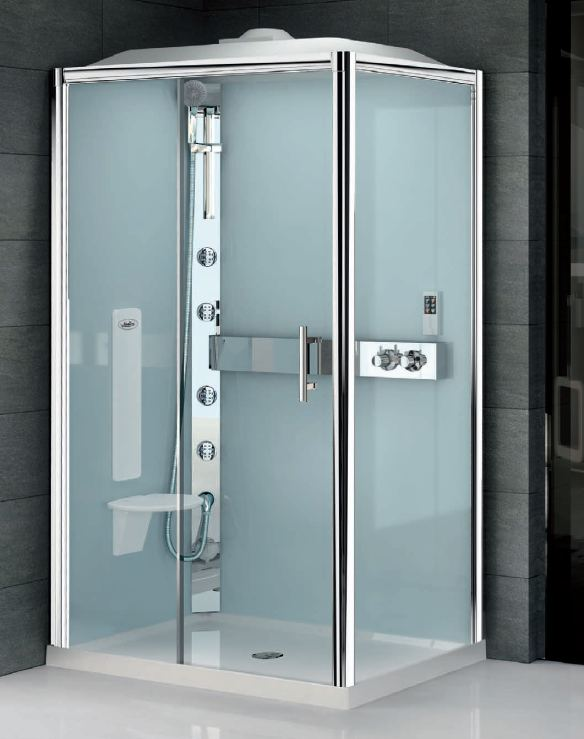 Unusual Power Shower Cubicles Pictures Inspiration - Bathroom with ...